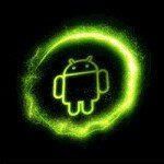 Android Particle Boot Screen