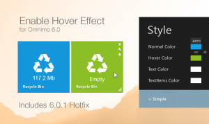 Enable Hover Effect - Omnimo 6